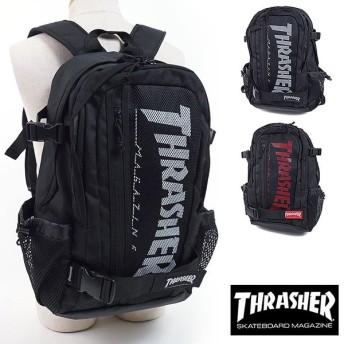 スラッシャー THRASHER 多機能バックパック リュックサック バッグ メンズ・レディース ブラック THRSG7901N SS18