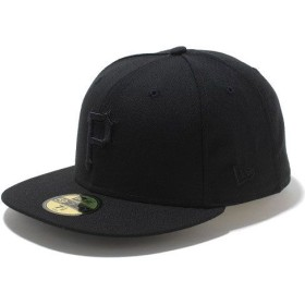 ニューエラ NEWERA キャップ MLB カスタム 59FIFTY ピッツバーグ・パイレーツ ブラック/ブラック N0001642 SC/11121208
