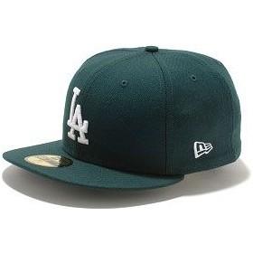 NEWERA ニューエラ キャップ MLB カスタム 59FIFTY ロサンゼルス・ドジャース ダークグリーン/ホワイト CAP  11308617