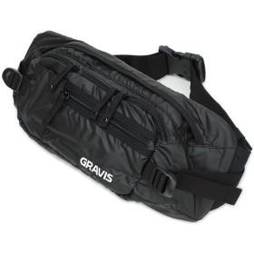 GRAVIS グラビス GRAVIS バッグ SHUTTLE BAG ウェストバッグ シャトル バッグ BLACK SHINE(斜めがけ ショルダー ヒップバッグ)(246666/260645 FW11)/完売