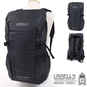 マイケルリンネル MICHAEL LINNELL アーミーコーティング 32L バックパック A.R.M.Sシリーズ  多機能 リュックサック メンズ ブラック  MLAC-02 SS18