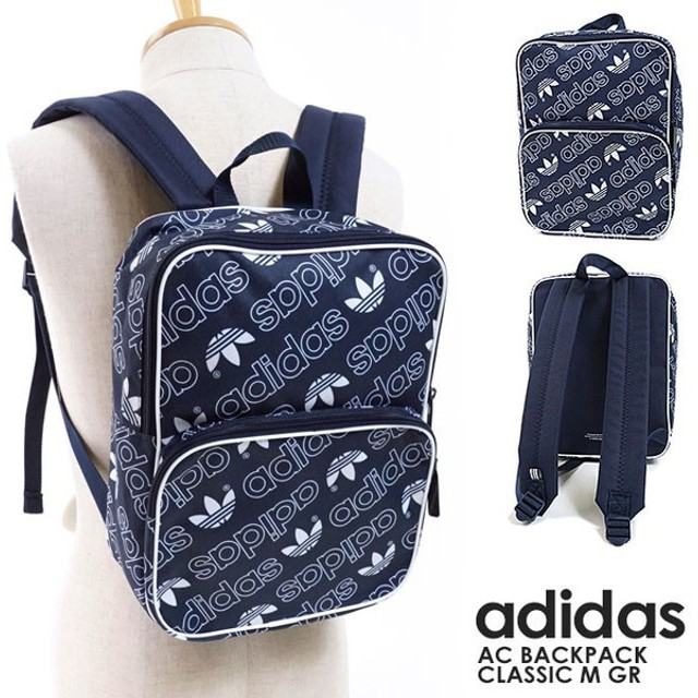 adidas Originals アディダス オリジナルス バッグ リュックサック AC BACKPACK CLASSIC M GR ACバックパック クラシック M GR FJE23/DH3365 FW18
