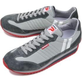 PATRICK パトリック スニーカー 靴 MARATHON マラソン P.GRY(94534 FW11)