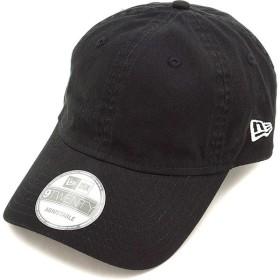 ニューエラ ウォッシュドコットン キャップ NEWERA 帽子 9TWENTY ブラック  11328069 FW16