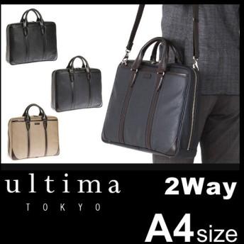 追加最大+34% 2/25まで ウルティマトーキョー ビジネスバッグ メンズ 2WAY A4 ultimaTOKYO エース ACE 59637 シルヴィオ
