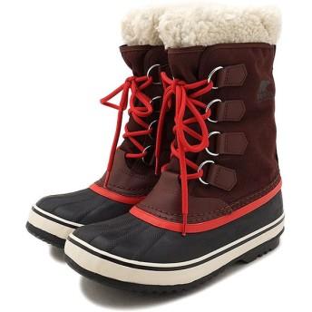 SOREL ソレル スノーブーツ レディース Winter Carnival ウィンターカーニバル REDWOOD  NL1495-628 FW17