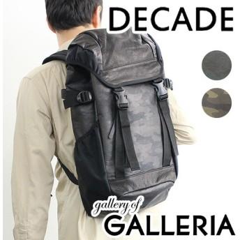 セール50%OFF DECADE ディケイド バッグ リュックサック バックパック カモ メンズ DCD-00601A