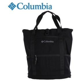 コロンビア Columbia DEKUM 2WAY TOTE PU8844 BLACK トートバッグ デイバッグ 通勤 ビジネスバック カジュアル バックパック 撥水