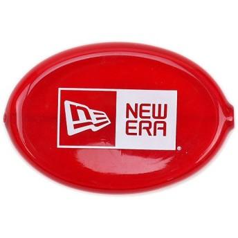 【メール便可】NEWERA ニューエラ COIN CASE コインケース ボックスロゴ トランスルーセントディープレッド N0009117 NEW ERA