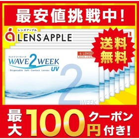 コンタクトレンズ2WEEK WAVE 2ウィーク UV plus×8箱セット ★買い替え人気No.1!★ 2WEEK 送料無料