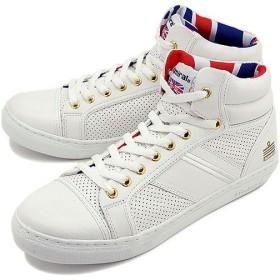 アドミラル Admiral スニーカー マンチェスター UK White/White/Gold  SJAD1507-010119 SS15