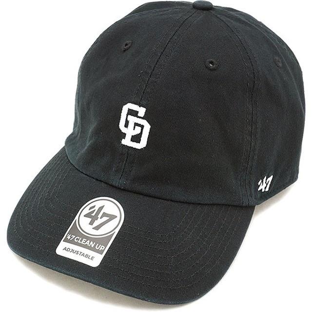 フォーティーセブン '47 キャップ DRAGONS BASERUNNER CLEAN UPドラゴンズ ベースランナー メンズ レディース アジャスタブル 帽子 BLACK  BSRNR02GWS
