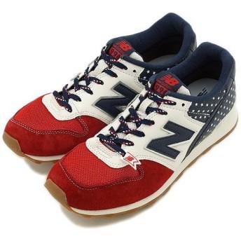 ニューバランス newbalance WR996 Dワイズ RED/NAVY WR996FRN