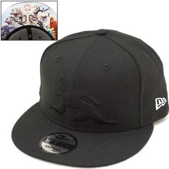 NEWERA ニューエラ キャップ New Era 円谷プロダクション ウルトラセブン 9FIFTY スナップバック ベースボールキャップ 帽子 ブラック/Sホワイト 11521882 FW17