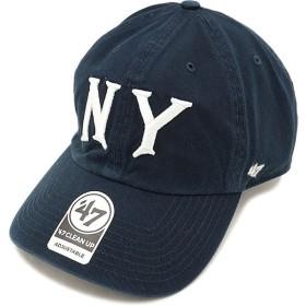 フォーティーセブン '47 キャップ YANKEES COOPERSTOWN CLEAN UP ヤンキース メンズ レディース アジャスタブルキャップ 帽子 NAVY  RGW17GWSNL