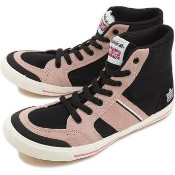 Admiral アドミラル スニーカー メンズ レディース イノマー ハイカット Black/Pink SJAD1511-0213 HO15