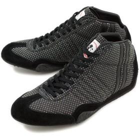 パトリック PATRICK スニーカー 靴 ジェット・レザーハイ ギャラクシー BLK 524111