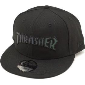 NEWERA ニューエラ キャップ New Era 9FIFTY Thrasher スラッシャー スナップバック ベースボールキャップ 帽子 ブラック/ブラック  11474732 FW17