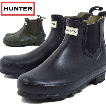 HUNTER ハンター レインシューズ MENS NORRIS CHELSEA ブーツ MFS9074RMA