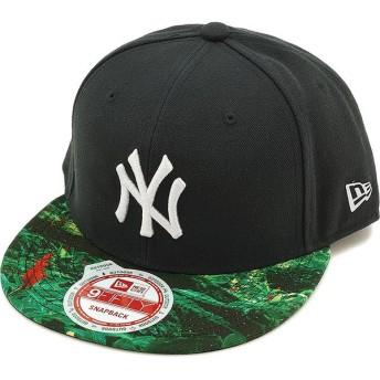 NEW ERA OUTDOOR ニューエラ アウトドア 9FIFTY ニューヨーク・ヤンキース キャップ JUNGLE BLK/PRINT/SSLV 11099526 SS15