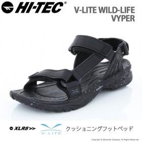 ハイテック メンズ アウトドアサンダル V-LIFE WILD-LIFE VYPER ブラック/ブラック HI-TEC 父の日