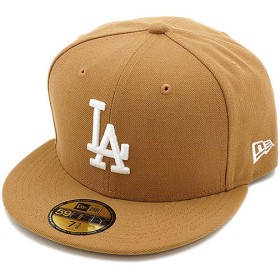 NEWERA ニューエラ MLB カスタム 59FIFTY LAドジャース ウィート/ホワイト  11308597