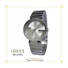 グッチ GUCCI 腕時計  YA133503 シルバー文字盤 SSベルト クオーツ  レディース