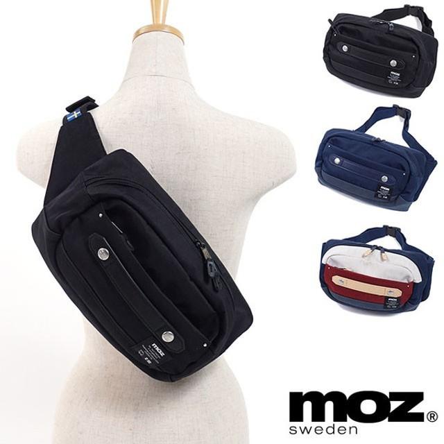 moz モズ バッグ ZZCI-10A ウエストポーチ ヒップバッグ レディース・メンズ  ZZCI-10A SS18