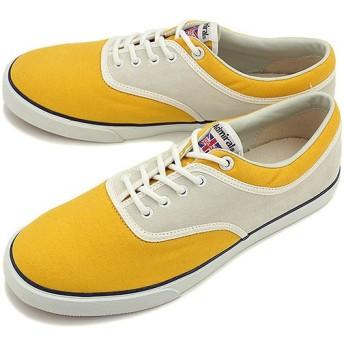 アドミラル Admiral スニーカー オール セインツ Yellow/White SJAD1422-0701 SS15