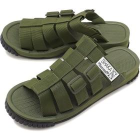 SHAKA シャカ サンダル 靴 メンズ・レディース RALLY SLIDE ラリー スライド OLIVE  433035 SS18