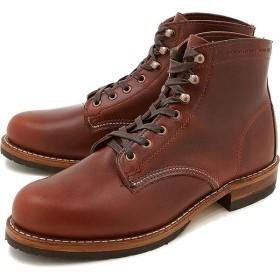 ウルヴァリン 1000マイル ブーツ エヴァンス WOLVERINE ウルバリン メンズ ワークブーツ 1000Mile Boots EVANS Dワイズ Dk Brown Leather 靴  W40196 FW16