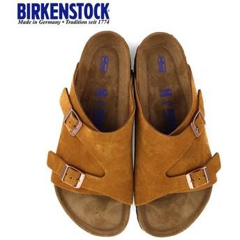 ビルケンシュトック BIRKENSTOCK チューリッヒ BS ソフトフットベッド 1009534 幅広 メンズ サンダル 靴 ミンク ブラウン  国内正規品