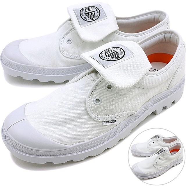 パラディウム パンパ オックスフォード PALLADIUM メンズ スニーカー WHITE/WHITE/BLACK  03994-994【ts】【e】