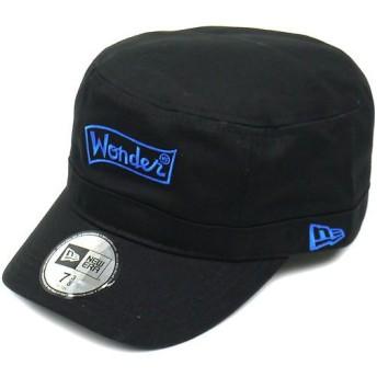 NEWERA ニューエラ キャップ WM-01 WDW WONDER LOGO ブラック/サファイア (N0009991)(NEW ERA)