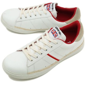 アドミラル スニーカー ウェンブリー White/Red SJAD1207-0104