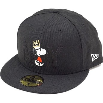PEANUTS × NEWERA 59FIFTY JOE COOL NY スヌーピー キャップ 114978
