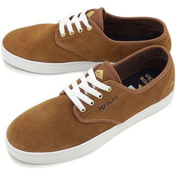 エメリカ EMERICA スケートシューズ THE ROMERO LACED BROWN/WHITE  SS14