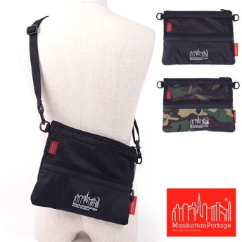 Manhattan Portage マンハッタンポーテージ Urban Lite Shoulder Bag アーバンライト ショルダーバッグ ポーチ サコッシュ MP1084MESH2CDL SS17