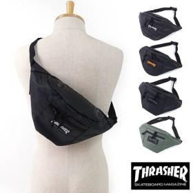 THRASHER スラッシャー ウエストバッグ ボディバッグ ワンショルダー  THRPN-3900 SS17