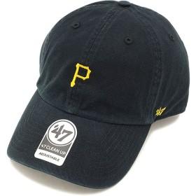 フォーティーセブン '47 キャップ PIRATES BASERUNNER CLEAN UP パイレーツ メンズ レディース アジャスタブルキャップ 帽子 BLACK  BSRNR20GWS