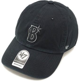 フォーティーセブン '47 キャップ DeNA Baystars CLEAN UP 横浜ディーエヌエーベイスターズ メンズ レディース アジャスタブルキャップ 帽子 BLACK RGW11GWSNL