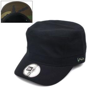 NEWERA ニューエラ キャップ WM-01 ミリタリー ワークキャップ ブラック/ウッドランドカモ(N0009129)(NEW ERA)