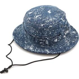 NEWERA ニューエラ キャップ ハット New Era スプラッシュプリント アドベンチャーハット サファリハット 帽子 ウォッシュドデニム  11404524 SS17