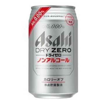 (まとめ)アサヒ ドライゼロ 350ml缶 24本入
