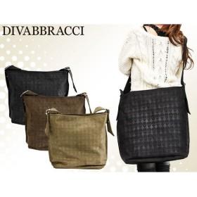 DIVABBRACCI ディーバブラッチ ショルダーバッグ ブラウン