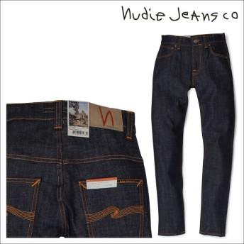 ヌーディージーンズ nudie jeans THIN FINN スキニー メンズ デニム パンツ DRY TWILL ブルー