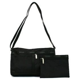 レスポートサック lesportsac バッグ 斜めがけ ブラック 7519 deluxe shoulder satchel bk