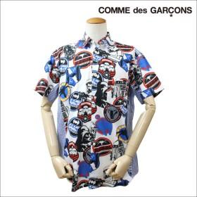 COMME des GARCONS SHIRT コムデギャルソン シャツ 半袖 STARWARS スターウォーズ コラボ ホワイト メンズ