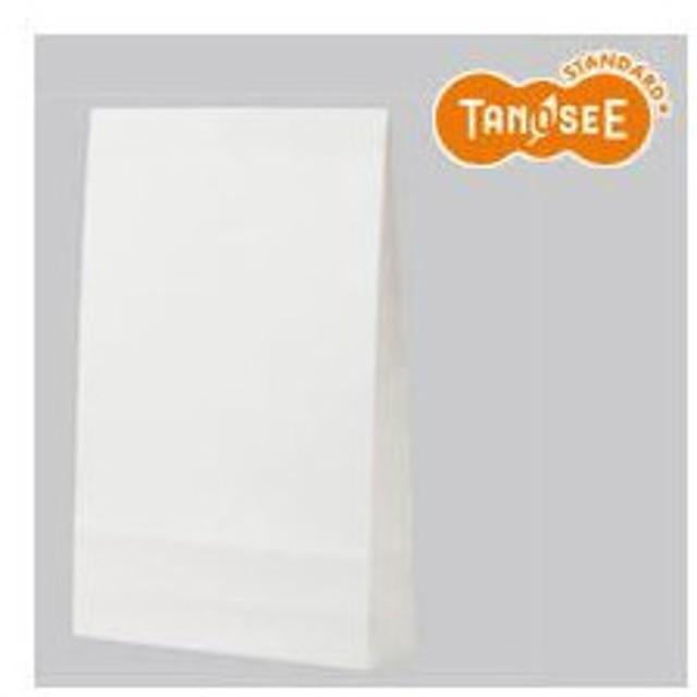(まとめ)TANOSEE 宅配袋 大 PPフィルム加工 白 封かんテープ付 100枚入×20パック
