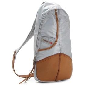 ディーゼル diesel バッグ 斜めがけ the brave crew x01688 back hob backpack silver gy